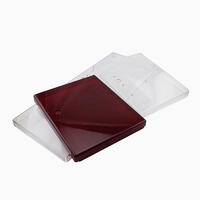Injection Molded Plastic Parts For Transparent Storage Cupboard Display